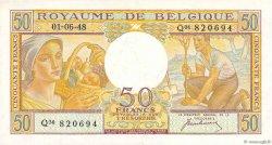 50 Francs BELGIQUE  1948 P.133a SUP+