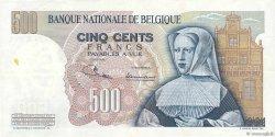 500 Francs BELGIQUE  1969 P.135a TTB+
