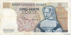 500 Francs BELGIQUE  1970 P.135b TB+