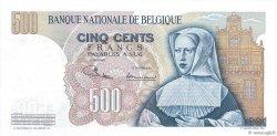 500 Francs BELGIQUE  1970 P.135b SUP