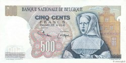 500 Francs BELGIQUE  1975 P.135b SUP