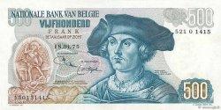 500 Francs BELGIQUE  1975 P.135b pr.SPL