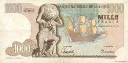 1000 Francs BELGIQUE  1963 P.136a pr.TTB