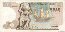 1000 Francs BELGIQUE  1964 P.136a TTB