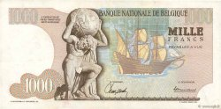 1000 Francs BELGIQUE  1965 P.136a TTB