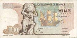 1000 Francs BELGIQUE  1970 P.136b TB+