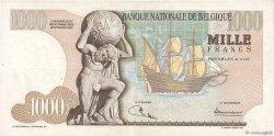 1000 Francs BELGIQUE  1970 P.136b TTB+