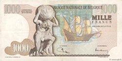1000 Francs BELGIQUE  1973 P.136b TTB+