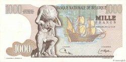 1000 Francs BELGIQUE  1975 P.136b TTB