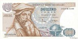 1000 Francs BELGIQUE  1975 P.136b SUP