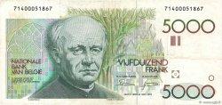 5000 Francs BELGIQUE  1982 P.145a pr.TTB