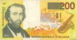 200 Francs BELGIQUE  1995 P.148 TB