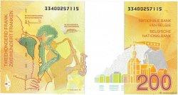 200 Francs BELGIQUE  1995 P.148 SUP