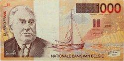 1000 Francs BELGIQUE  1997 P.150 TTB