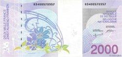 2000 Francs BELGIQUE  1994 P.151 NEUF