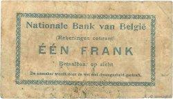 1 Franc BELGIQUE  1914 P.081 pr.B