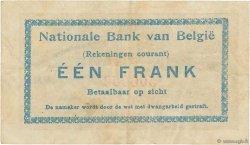1 Franc BELGIQUE  1914 P.081 TTB