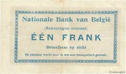 1 Franc BELGIQUE  1914 P.081 pr.SUP