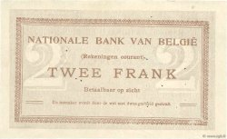 2 Francs BELGIQUE  1914 P.082 TTB