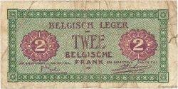 2 Francs BELGIQUE  1946 P.M2a B