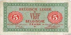 5 Francs BELGIQUE  1946 P.M3a TB+