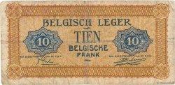 10 Francs BELGIQUE  1946 P.M4a B