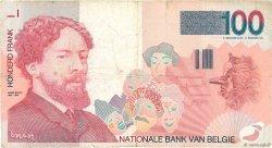 100 Francs BELGIQUE  1995 P.147 TB