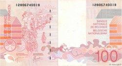 100 Francs BELGIQUE  1995 P.147 TTB