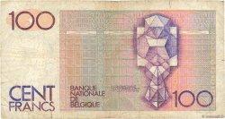 100 Francs BELGIQUE  1978 P.140 B