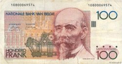 100 Francs BELGIQUE  1978 P.140 TB