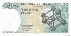 20 Francs BELGIQUE  1964 P.138 NEUF