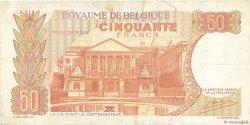 50 Francs BELGIQUE  1966 P.139 TB