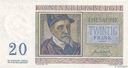 20 Francs BELGIQUE  1950 P.132a SUP