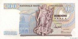 100 Francs BELGIQUE  1962 P.134a SUP