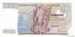 100 Francs BELGIQUE  1962 P.134a pr.NEUF