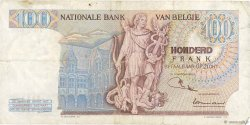 100 Francs BELGIQUE  1968 P.134a TB à TTB