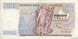 100 Francs BELGIQUE  1971 P.134b TTB