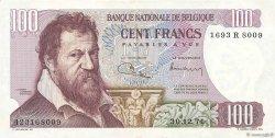 100 Francs BELGIQUE  1971 P.134b SUP