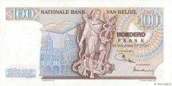 100 Francs BELGIQUE  1971 P.134b SPL