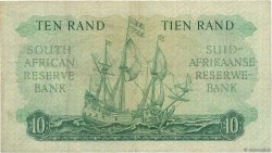 10 Rand  SOUTH AFRICA  1962 P.106b VF