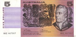 5 Dollars AUSTRALIE  1974 P.44a TTB