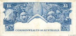 5 Pounds AUSTRALIE  1954 P.31 TTB