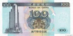 100 Patacas MACAO  1999 P.098 pr.NEUF