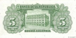 5 Pesos Oro COLOMBIE  1953 P.399a SPL+