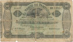 10 Pesos COLOMBIE  1884 PS.0713 B