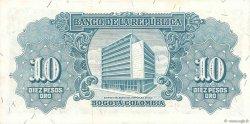 10 Pesos Oro COLOMBIE  1960 P.400c pr.NEUF