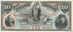 10 Pesos URUGUAY  1887 PS.212r pr.NEUF