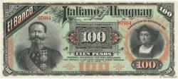 100 Pesos URUGUAY  1887 PS.215 SPL