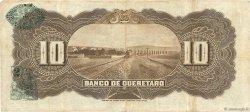 10 Pesos MEXIQUE Queretaro 1914 PS.0391b TTB