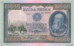 1000 Escudos PORTUGAL  1942 P.156 TTB+
